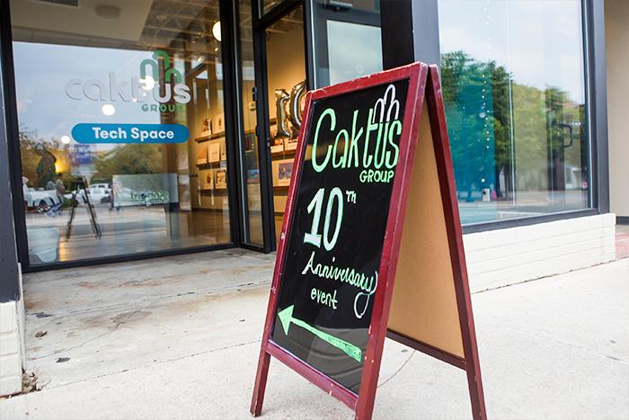 Caktus 10th Anniversary Event