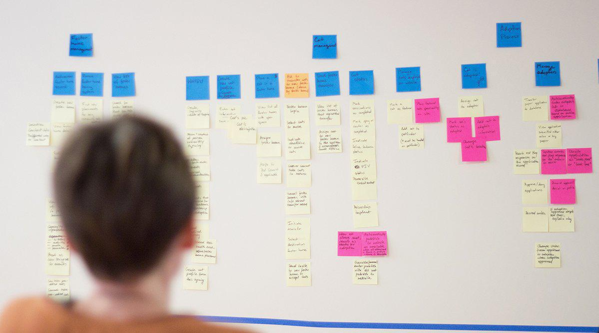 Prioritized user story map