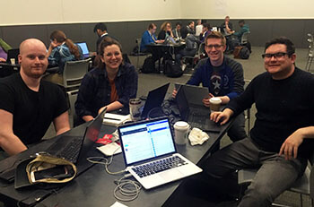 CodeRed CMS team at PyCon