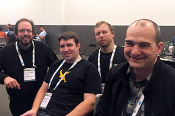 Falcon Framework team at PyCon