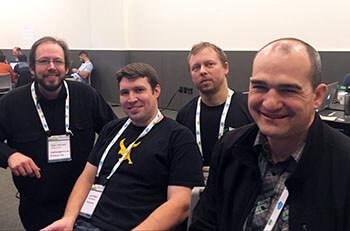 Falcon Framework team at PyCon
