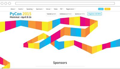 Website redesign with Django
