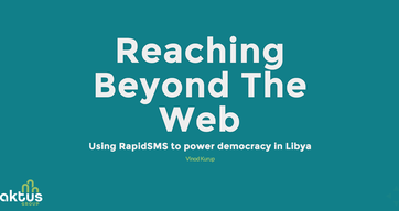 Reaching Beyond the Web: Libya Voter Registration