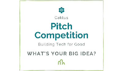Logo of Caktus Pitch Competition: Building Tech for Good