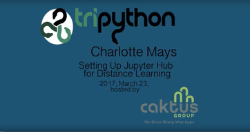 Setting up JupyterHub for Distance Learning